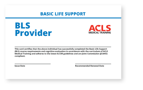 Accredited BLS Certification - Renew Online in 2 Hours