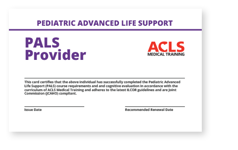 ACLS Renewal - Hard Copy Provider Cards