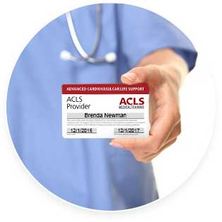 ACLS Certification - Provider Card