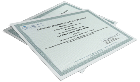 Category 1 CME Certificate